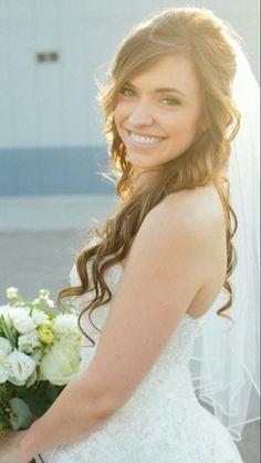 Long hair bride