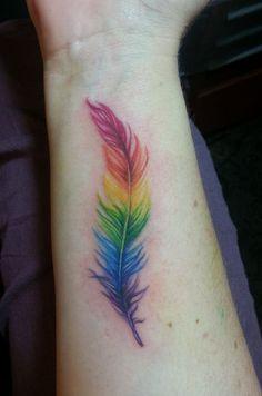 pluma rainbow - Buscar con Google