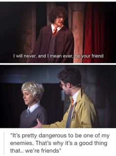 I smile and then cry for days thinking about this. Harry Potter Musical, Harry Potter Fandom, Harry Potter World, Harry Potter Memes, Harry Draco, Movies Quotes, Lauren Lopez, No Muggles, Avpm