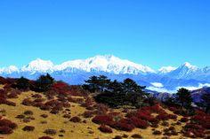 Sandakfu is the highest point of the Singalila Ridge Trek on the West Bengal-Sikkim border, in India.
