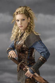 #KatherynWinnick #Lagertha #Vikings #HistoryChannel Season Three Promo Pic