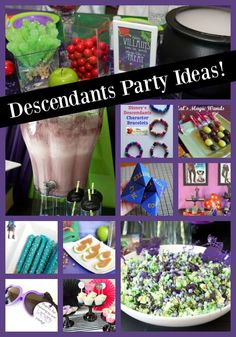 Disney Descendants Birthday Party - Desecendants 3 is Available on DVD! 9th Birthday Parties, 8th Birthday, Birthday Party Decorations, Paris Birthday, Tea Parties, Birthday Ideas, Estilo Disney, Disney Descendants, Party Printables