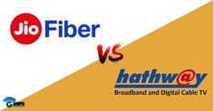 #JIO VS #HATHWAYS | #Services & #Plan The biggest competitor of the Jio GigaFiber in the Indian market is Bharti . Hathway broadband service that offers lightning-fast speeds of up to 100Mbps.