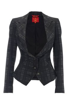 Vivienne Westwood Red Label - I like the cut at the waist. all it needs is a top hat and suspenders.