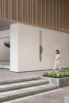 共向美学 X JLa设计 | 当代田园诗 Sales Center, Interior Decorating, Interior Design, Lobbies, Elle Decor, Minimalism, Landscape, Architecture, Retail
