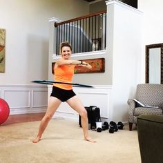 First time trying @fxp_fitness and I'm not going to lie.... I'm hooked! I love that it was only 15 min and for someone who can't hula hoop I was shocked that I actually kept it on most the time!! Full blog post and POSSIBLY a video soon.... For comedic purposes!! #funcrosstraining #mrtt #hulahoop #wiggleit #justalittlebit by momsrunthistown