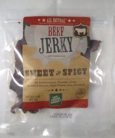 Discover how The Fresh Market - Sweet and Spicy beef jerky fared in a jerky review. http://jerkyingredients.com/2015/09/11/fresh-market-sweet-spicy-beef-jerky/ @TheFreshMarket #thefreshmarket #beefjerky #review #food #jerky #ingredients #jerkyingredients #jerkyreview #beef #paleo #paleofood #snack #protein #snackfood #foodreview #sweetandpsicy #sweet #spicy #sweetspicy