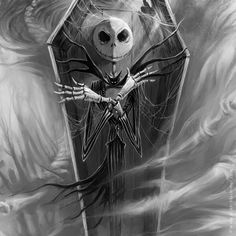 Jack skellington art