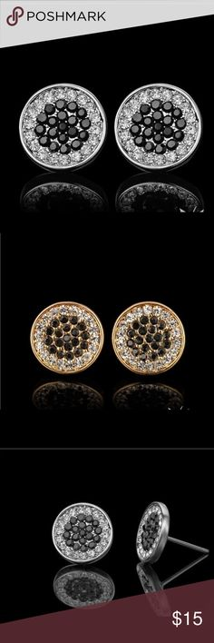 Men silver / gold plated earrings Men silver / gold plated earrings Accessories Jewelry
