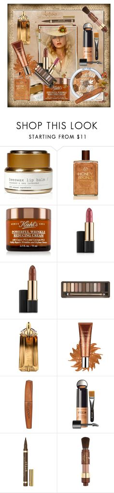 """""""Fall Beauty"""" by ragnh-mjos ❤ liked on Polyvore featuring beauty, Haeckels, Kiehl's, Estée Lauder, Urban Decay, Thierry Mugler, By Terry, Rimmel, Stila and Lancôme"""