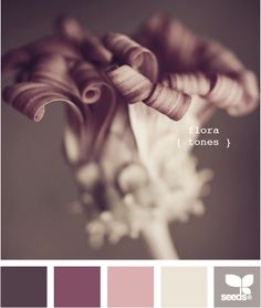 flora tones. Oh I love these colors