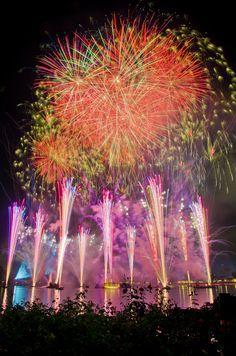 Florida: Epcot Center Fireworks (Disney World)
