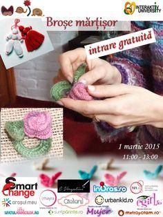 MAIArtistic - intalnire cu Martisoare crosetate - MuJeR.ro http://www.mujer.ro/maiartistic-intalnire-cu-martisoare-crosetate