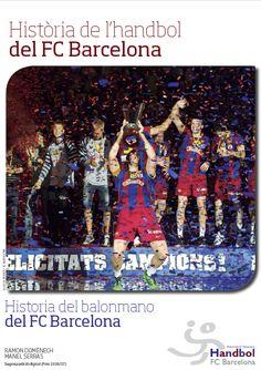 Llibre Història de l´handbol del FC Barcelona