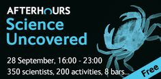 Science Uncovered 2012 is at 16:00 - 23:00 on 28 September 2012. Watch this space for photos from the night. #SU2012