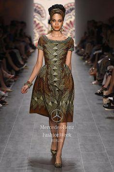 Mercedes-Benz Fashion Week Berlin - Focus On Fashion LENA HOSCHEK S/S 2015