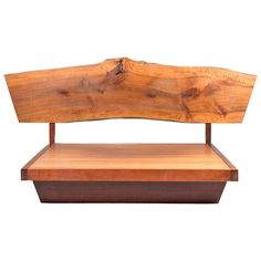 Plank Headboard and Platform Frame | From a unique collection of antique and modern beds at https://www.1stdibs.com/furniture/more-furniture-collectibles/beds/