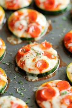 12 Healthy Snacks That Are (Almost) Too Good To Be True #refinery29  http://www.refinery29.com/healthy-snack-ideas#slide-1  Zucchini Pizza BitesIf you're not a big fan of veggies, here's a great way to sneak in some zucchini, while pretending you're eating pizza....