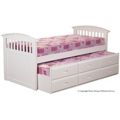 Found it at Wayfair.co.uk - Reres Ruby Captain Slat Bed with Underbed Storage