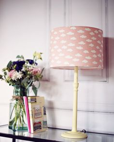 Cute Cloud Makes By Elenaoneill On Etsy Lampshade Clouds Nursery