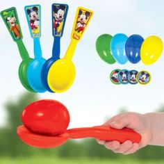 Mickey Mouse Egg Relay Game - Party City