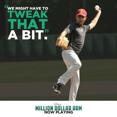 Heart if you were inspired by Rinku in Million Dollar Arm. Now playing in theatres.