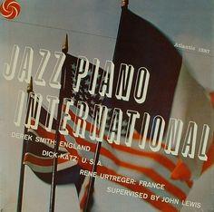 Jazz Piano International Atlantic Records, John Lewis, Piano, Jazz, England, France, Cover, Jazz Music, Pianos