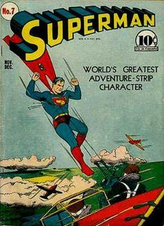 Flying - Airplane - Worlds Greatest - Dogfight - Battle - Joe Shuster
