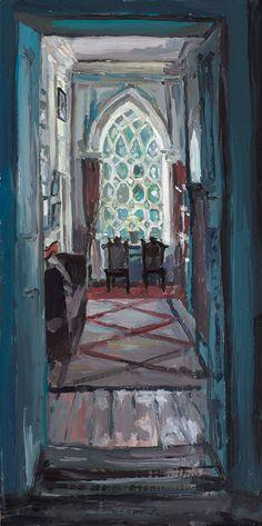 Leixlip Corridor, 2015, by Hector McDonnell