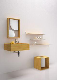 The Nendo Bathroom Collection for Bisazza Bagno
