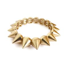 Pulsera elastica con puas - Spike bracelet