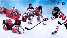 Team Canada - We now know which players will aim to win Canada's fifth straight Olympic gold medal in women's hockey. The team named today (full roster below) is led by returning veterans and infused with rookie energy. Olympic Hockey, Women's Hockey, Olympic Gold Medals, Olympic Team, Latest Games, Team Names, Winter Olympics, Superhero, Cute