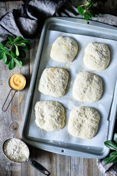How to Make Chewy Ciabatta Rolls: these homemade rolls will make any sandwich taste amazing! This rustic Italian bread is crisp outside and soft inside, making it super tempting and ultra delicious. Savory Bread Recipe, Bread Recipes, Cooking Recipes, Gluten Free Ciabatta Bread Recipe, Cooking Kale, Scone Recipes, Cooking Bread, Cooking Bacon, Cooking Light