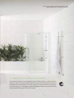 INR bruseafskærmning #inr #brusedør #badeværelse #bruseafskærmning #brusevæg #vvscomfort #bogreolen