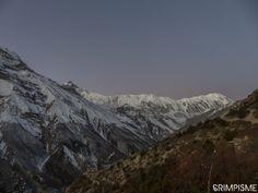 En montant à Tilicho Tal #annapurnatrek #nepal #grimpisme