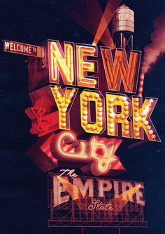 New York City neon