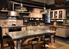 Rustic English & American Country Kitchens, As Interpreted by the Italian Marchi Group