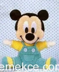 We continue our Amigurumi recipes without slowing down. You Will not Find Anywhere Organic Toy Amigurumi Baby Mickey Mouse For You Amigurumi lovers are on… Crochet Baby Toys, Crochet Amigurumi Free Patterns, Crochet For Kids, Crochet Animals, Crochet Dolls, Free Crochet, Crocheted Toys, Newborn Crochet, Baby Knitting