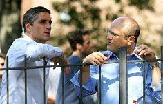 James Caviezel filming on the set of the new TV show 'Person of Interest'