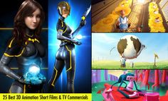 25 Best 3D Animation Short Films and TV Commercials for your inspiration. Read full article: http://webneel.com/25-best-3d-animation-short-films-and-tvc-your-inspiration | more http://webneel.com/animation | Follow us www.pinterest.com/webneel