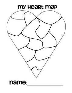 The Heart Map is a great lesson to kick off your Writer's Workshop or writing block for the year! Have students fill out each piece of the heart with a drawing of something close to their hearts (favorite activity, memorable vacation, family, friends, favorite book, etc).