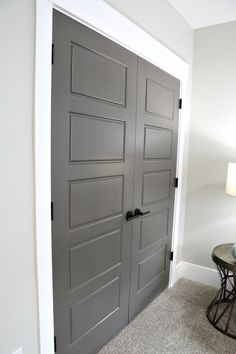 Cant wait for paint our humble abode gray interior doors for choosing interior door styles and paint colors trends planetlyrics Image collections