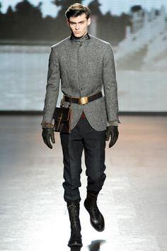 Ermenegildo Zegna Fall 2011 Menswear