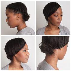 protective haistyle relaxed hair