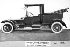 1909 40/50hp chassis 60934 Hooper double landaulette fitted in 1913 for J. C. Williams Esq. of Caerhays Castle in Cornwall from whose garden came the Camellia X williamsii hybrids. This chassis originally carried a Rothschild of Paris landaulette built for the same owner