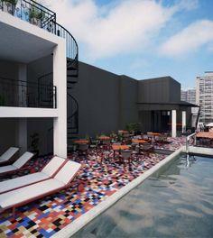 Luciano K Hotel- Santiago, Chile