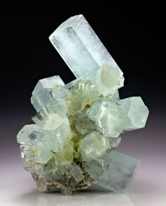 Beryl var. Aquamarine from Pakistan