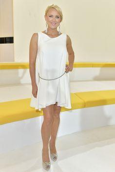 Anna Samusionek pokazała nogi podczas prezentacji ramówki TVN