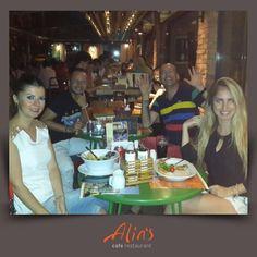 Bostanlı şubemizden Yaprak hanıma ve arkadaşlarına masalarını bizimle paylaştıkları için çok teşekkür ederiz  www.alins.com.tr #alins #restaurant #cafe #bostanlı