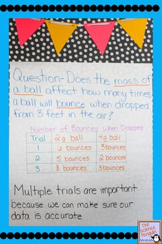 Why are multiple trials important in science? Help your students understand with this activity that can be tweaked for grades 1 to School Age Activities, Science Activities For Kids, Science Fair Projects, Science Experiments Kids, Math For Kids, Teaching Science, Easy Science, Science Ideas, Teaching Tools